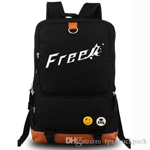 ظهره مجانا رجل السباحة نادي اليوم حزمة حقيبة مدرسية عالية السرعة الكرتون packsack كمبيوتر محمول على الظهر الرياضة المدرسية daypack في الهواء الطلق