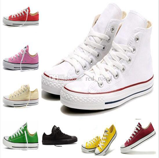 Low Top Trainers Classic Casual Canvas Sneakers Boys Girls Unisex Athletic Shoes