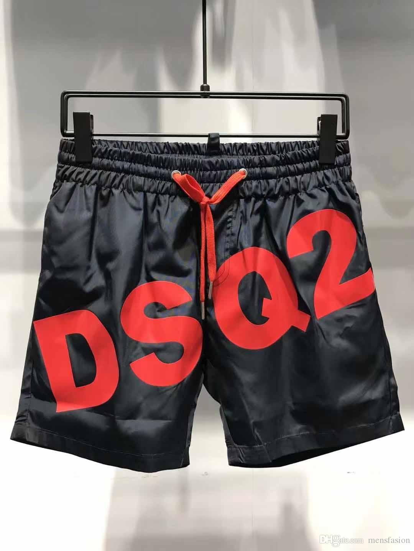 19SS All'ingrosso Estate Moda Shorts Nuovo designer Board breve Asciugatura rapida SwimWear Stampa Board Beach Pants Uomo Mens Swim Shorts QBQ