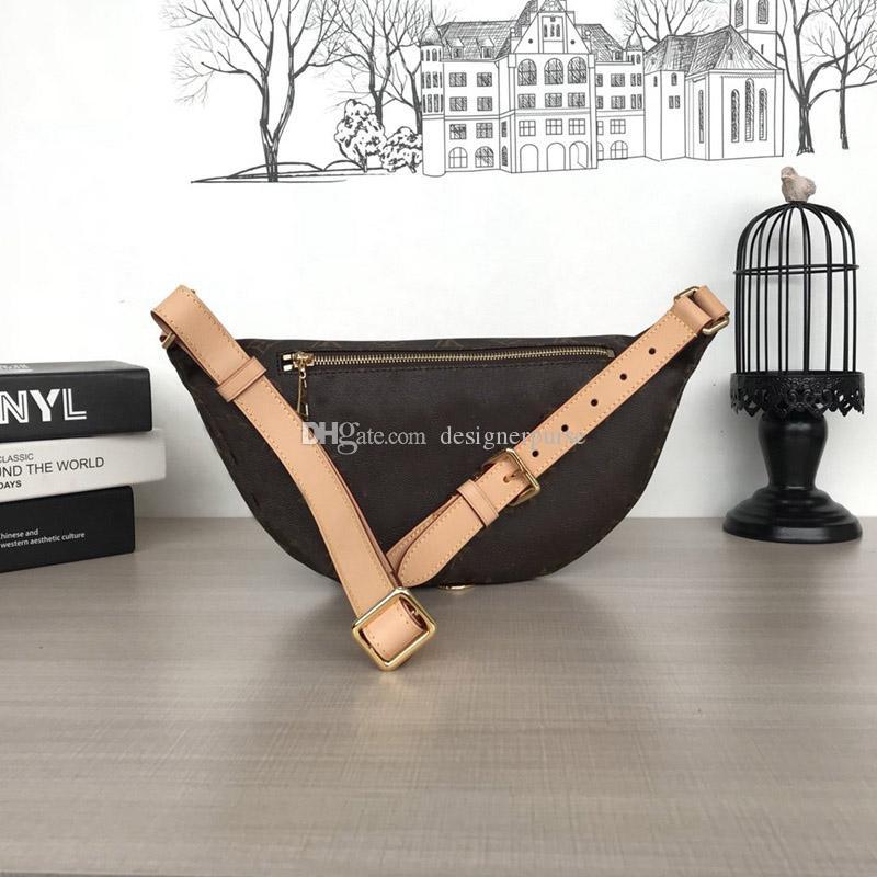 최고 품질 Bumbag 가방 디자이너 크로스 바디 백 브랜드 허리 가방 Bumbag M43644 허리 가방 2019 브랜드 패션 명품 디자이너 가방