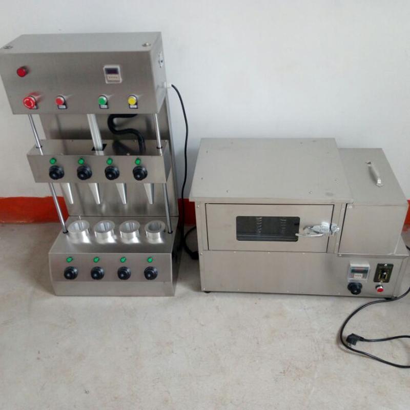 venta Bajo coste de máquina rotativa horno con calentamiento de la varilla a la pizza productos tostadora máquina de cono de pizza