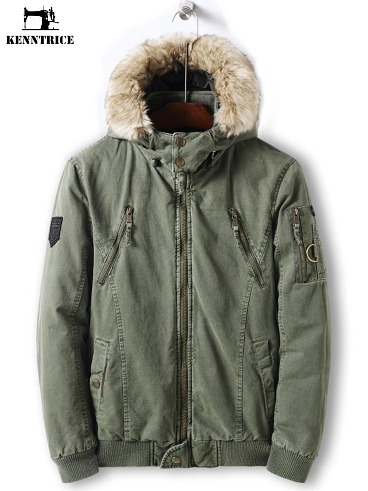 Green And Black Parka