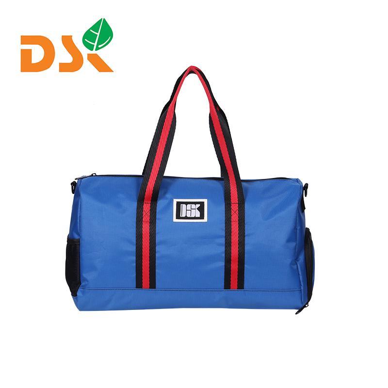 Borse Moda Vintage Striped Oxford Viaggi Borsone casuale della spalla borsa Big Capacity Man Bag Sport