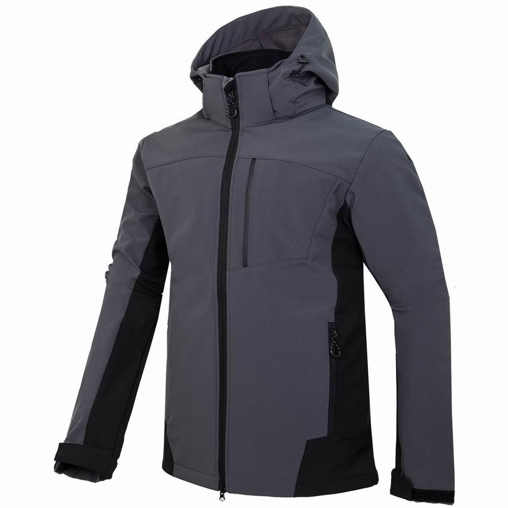 nuovi uomini HELLY giacca invernale con cappuccio Softshell per antivento e impermeabile morbido cappotto Shell Jacket HANSEN Giacche Cappotti 18061