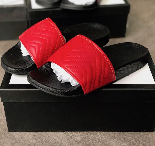 최고의 품질 디자이너 샌들 패션 여성 스트라이프 슬라이드 기어 바닥 원인 미끄럼 방지 여름 huaraches 슬리퍼 플립 플롭 크기 5-11