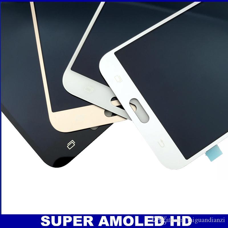 AMOLED LCDs Full Digitizer para Samsung Galaxy J7 neo J701 J701F J701M J701MT Pantalla LCD Reemplazo del ensamblaje de la pantalla táctil