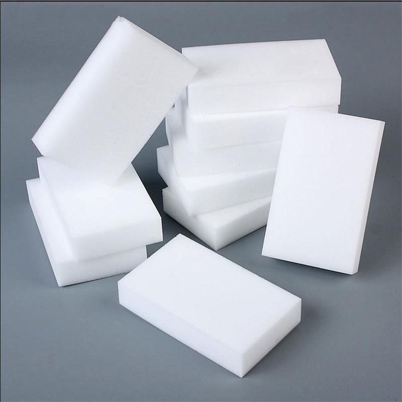 100pcs éponge Eraser Cuisine plumeau lingettes Accueil Clean accessoires vaisselle en microfibre nettoyage éponge mélamine nano gros 10 * 6 * 2cm