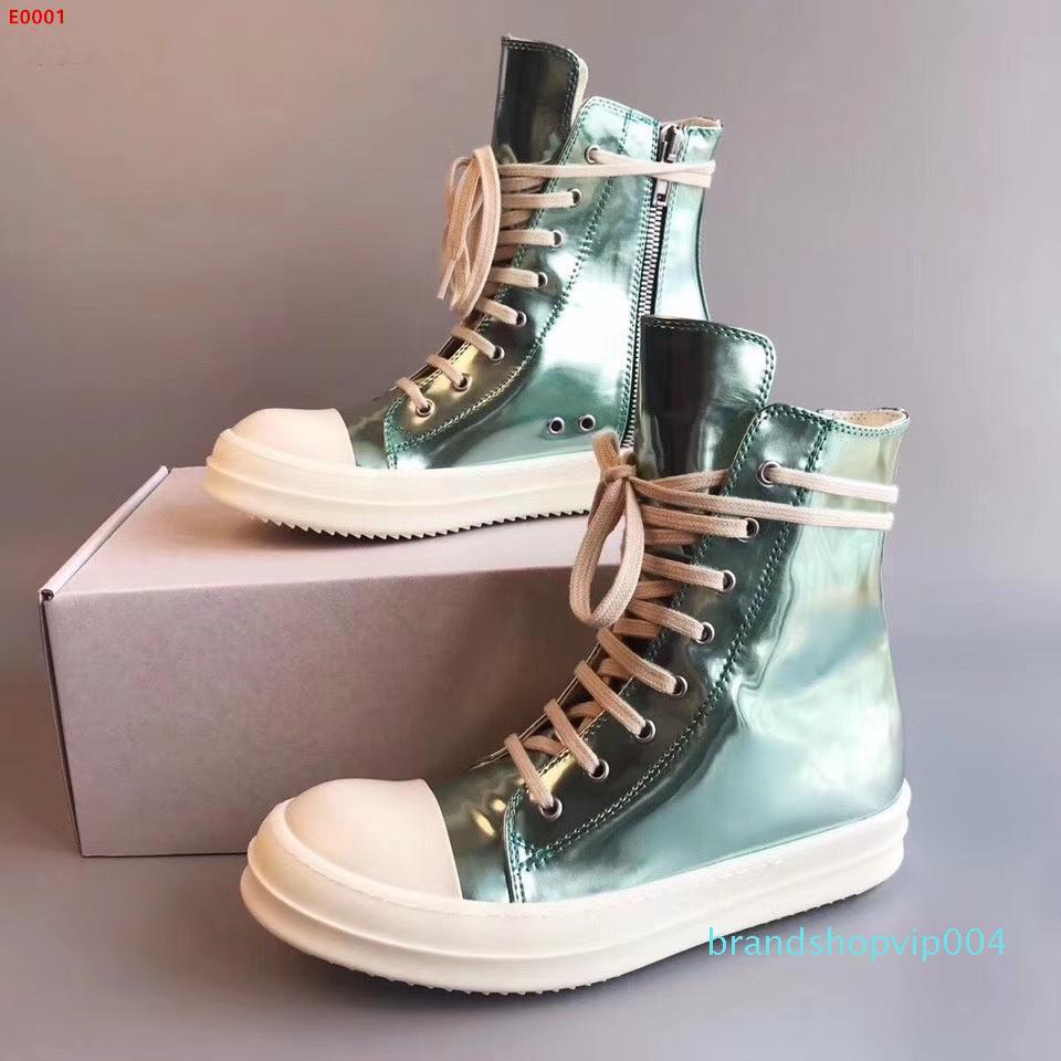 Nuove scarpe edizione misura limitata per gli uomini e le donne con riflettente, elegante versatile tacchi casual e scarpe tacco basso, forniti con shoebox