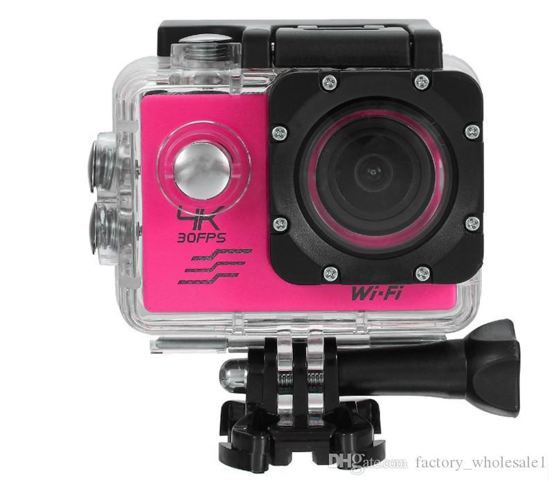 SJ8000 Ultra HD 4K 24fps Sports Camera Waterproof WIFI Action Camera 2.0 LCD Helmet Camcorder DVR