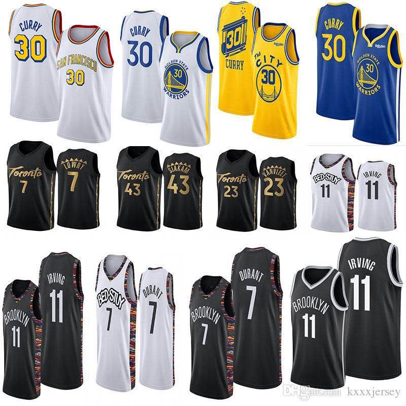 Ncaa Stephen 30 Curry Jersey Kevin Durant 7 11 Irving Pascal 43 Siakam Fred 23 VanVleet Kyle Lowry 7 Homens College Basketball Jerseys