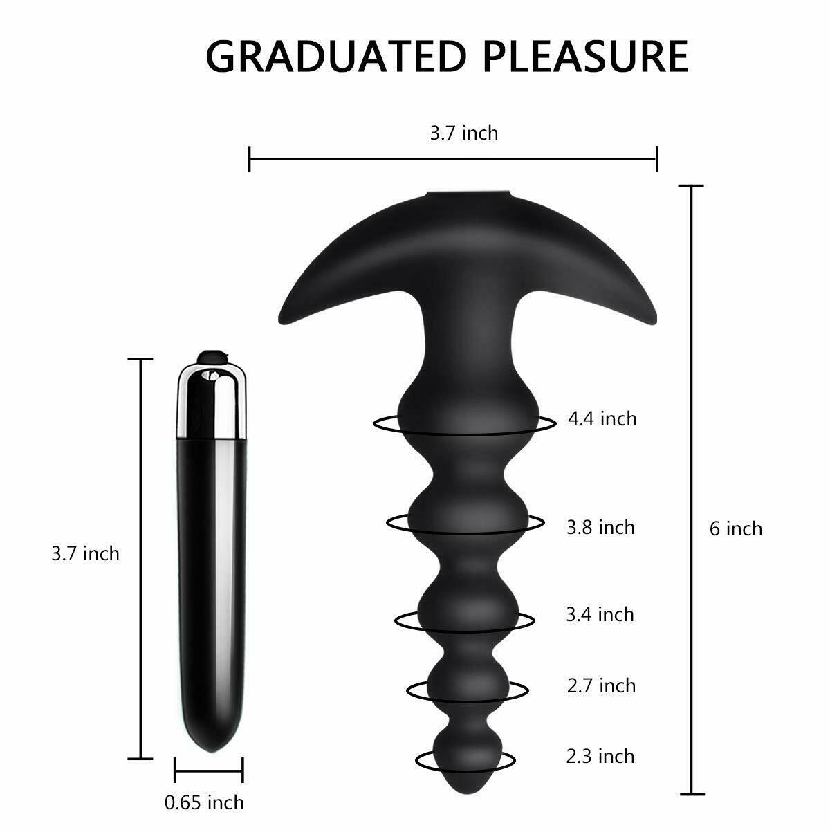 Anal Beads Butt Vibration Men Sex Design Plug Modes Flexible Adult Silicone Sex Women Erotic Anal 16 Toy Bxofl