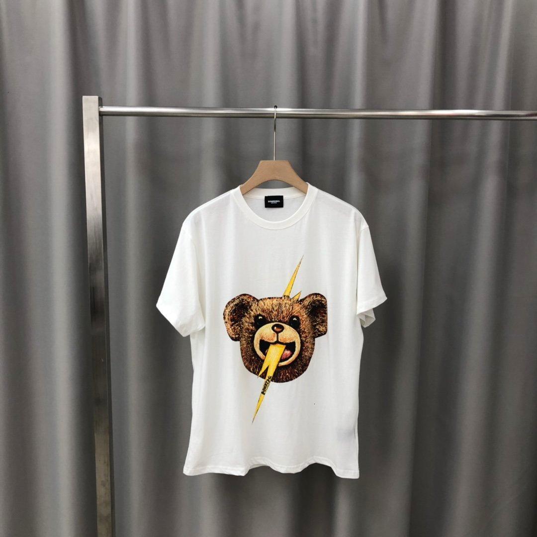 Mens T-shirt Fashion Casual Size manica corta M-2XL respirabile comodo WSJ000 # 112.765 lucky04