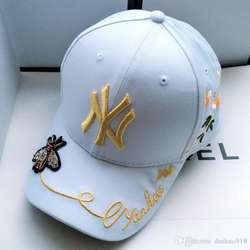 2018 Kanye West Ye Ayı baba Caps erkek ve kadınlar 969115AAAAA16 için mevcut yalnızca sevimli beyzbol Caps yaz Snapback Caps