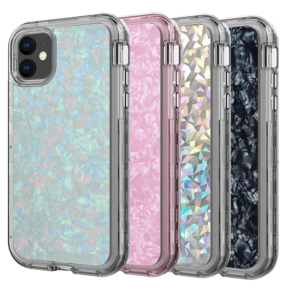 For Iphone 11 Case 3In1 Drop Glue Case Heavy Duty Shockproof Full Body Protection Cover Phone Case For Iphone 11 Pro Max