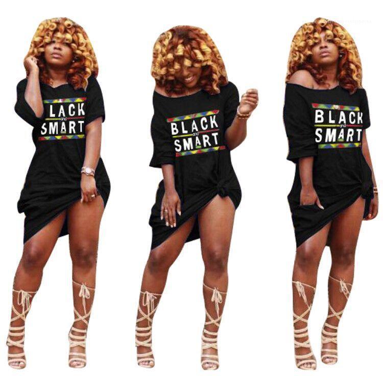 Summer Loose Straight Dress Female Vestidoes Black Smart Women Casual Dress Spring