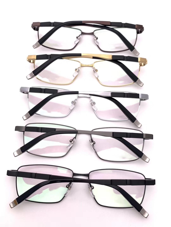 -Manera al por mayor la evidencia de lujo retro de los vidrios hombres de la vendimia 19700 marco de diseño de logotipo con láser de oro las mujeres de calidad superior con el paquete 57-16-146