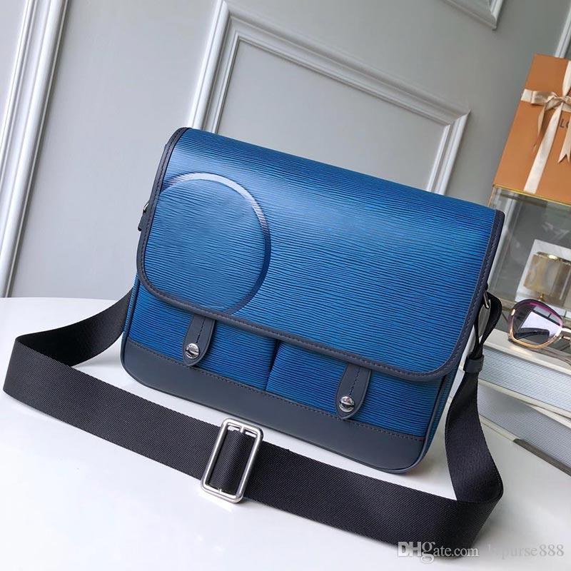 Designer Crossbody кошелек водяной человек одноместный Messenger роскошные сумки на плечо мужчины дизайнер натуральный кожаный кошелек пушка плечевые сумки GGOTB