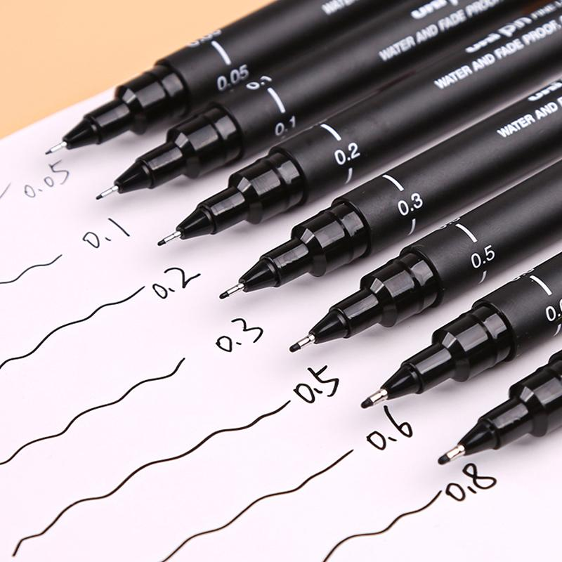 UNI PIN FINELINER PEN TECHNICAL DRAWING PEN  VARIOUS TIP SIZES AND FREE POSTAGE