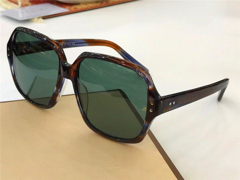 Gros-nouveau populaire femmes marque designer lunettes de soleil 40074 lunettes de soleil cadre carré mode design simple style d'été avec boîte