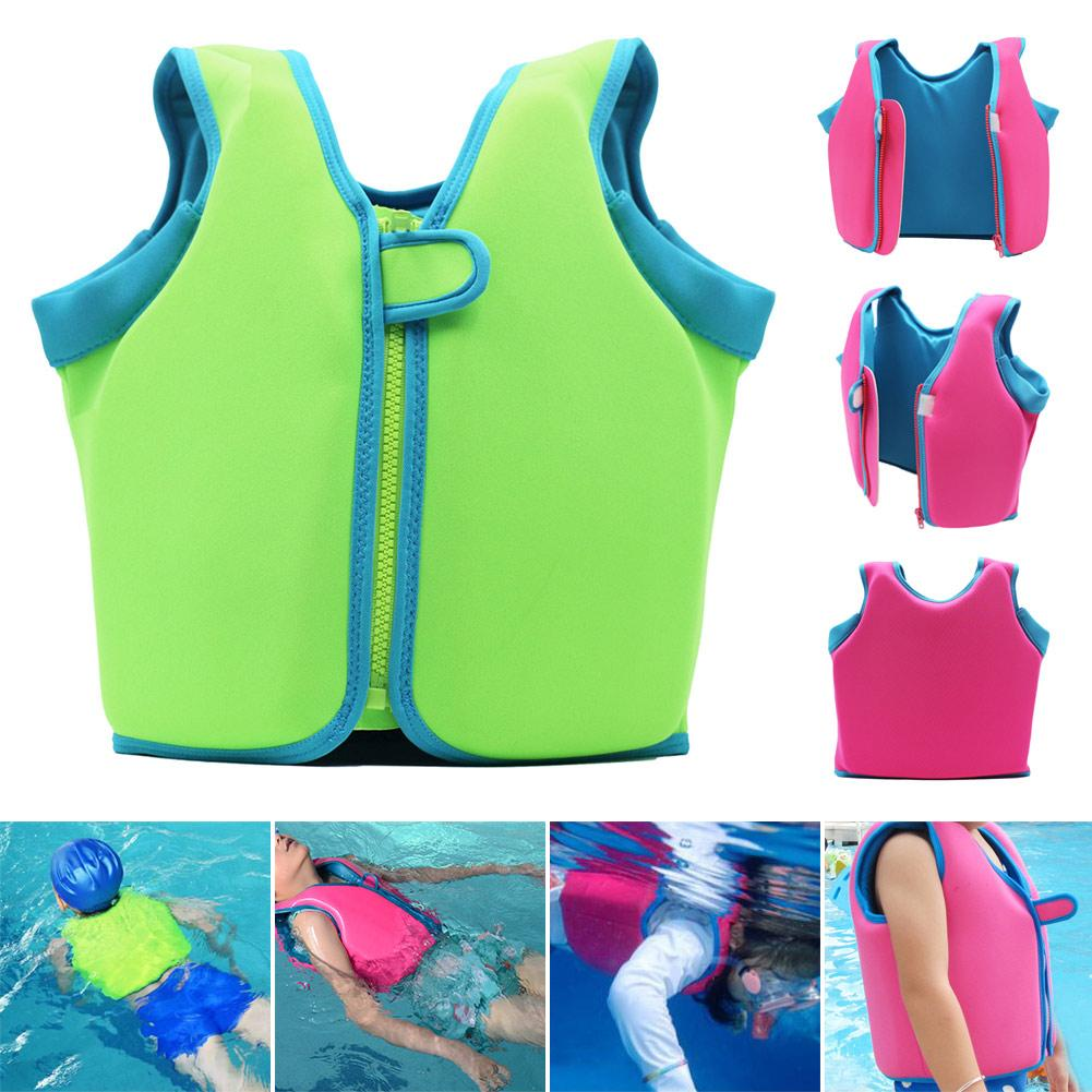 Kids Baby Swimming Vest Diving Life Jacket for Summer Swim Holiday C55K Sale