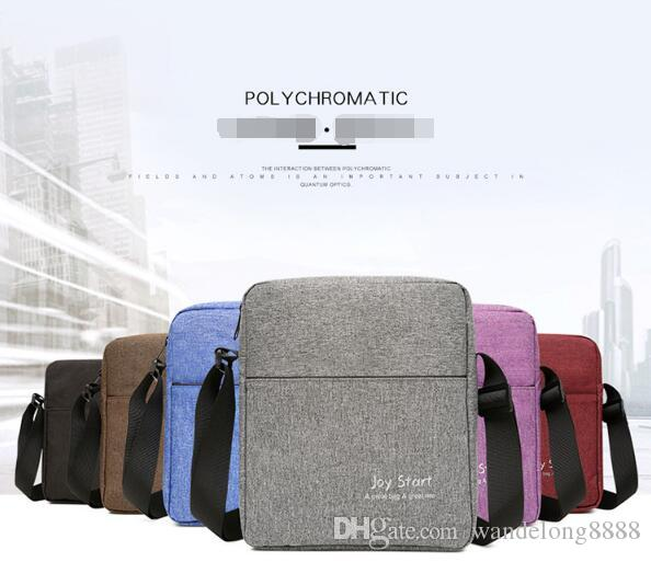 New men's casual shoulder bag lightweight nylon waterproof Messenger bag outdoor backpack Free shipping and another gift to send!17