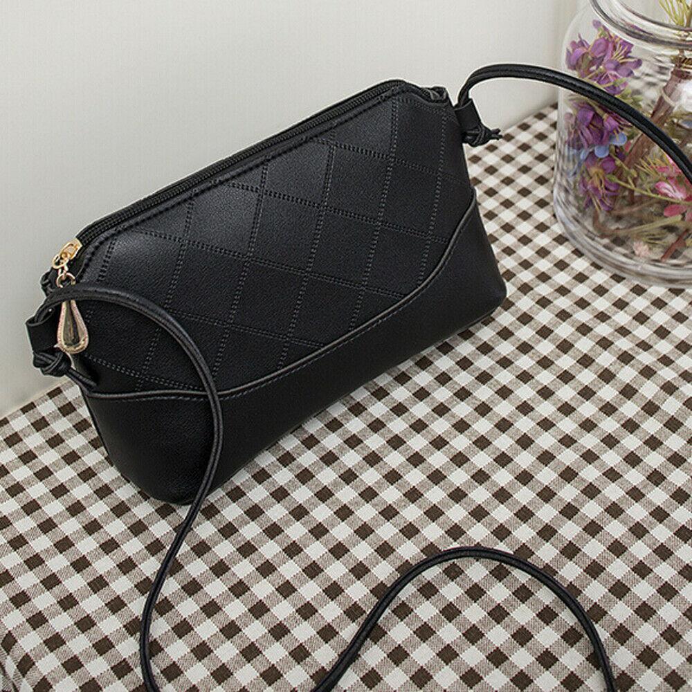 Fashion Small Square Black Handbag Crossbady Bag Vintage Mini Flap Women Shoulder Bag