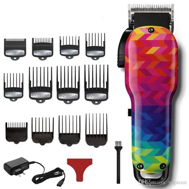 Barbeiro cortar cabelo profissional cortar cabelo elétrica dos homens poderosos cortar cabelo sem fio Barbearia ferramentas especiais
