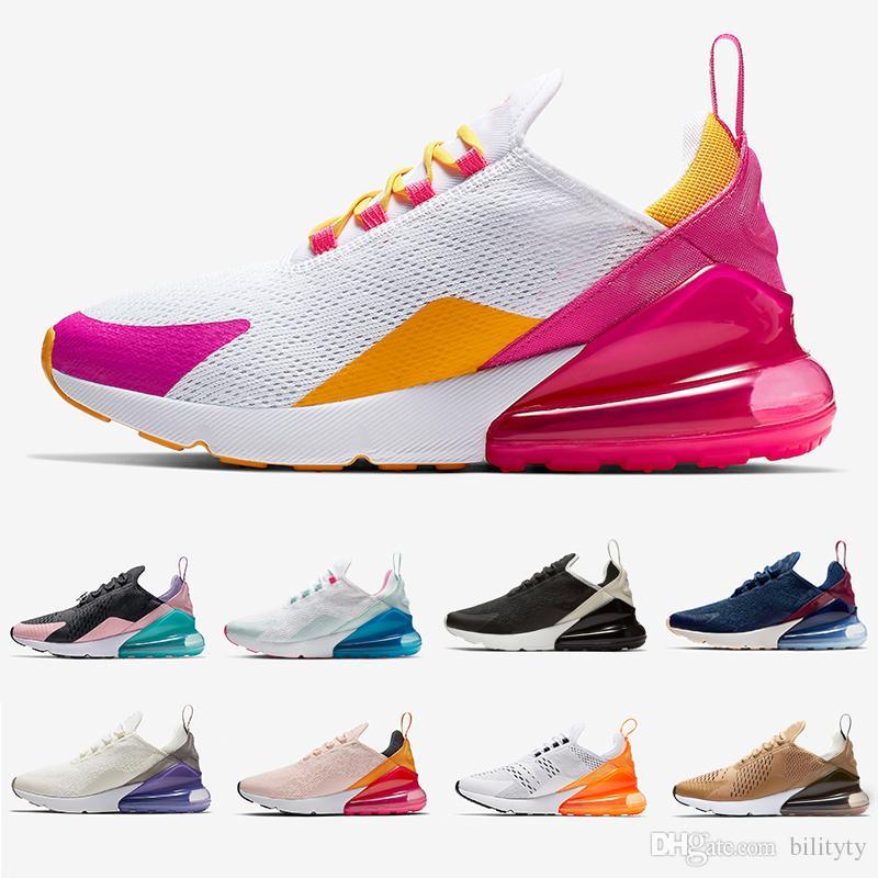 Nike Air Max 270 Airmax 270 Shoes Fucsia Gold Para Mujer Zapatillas  Deportivas Blanco Rosa Mowabb Entrenamiento Deportes Al Aire Libre  Zapatillas De ...