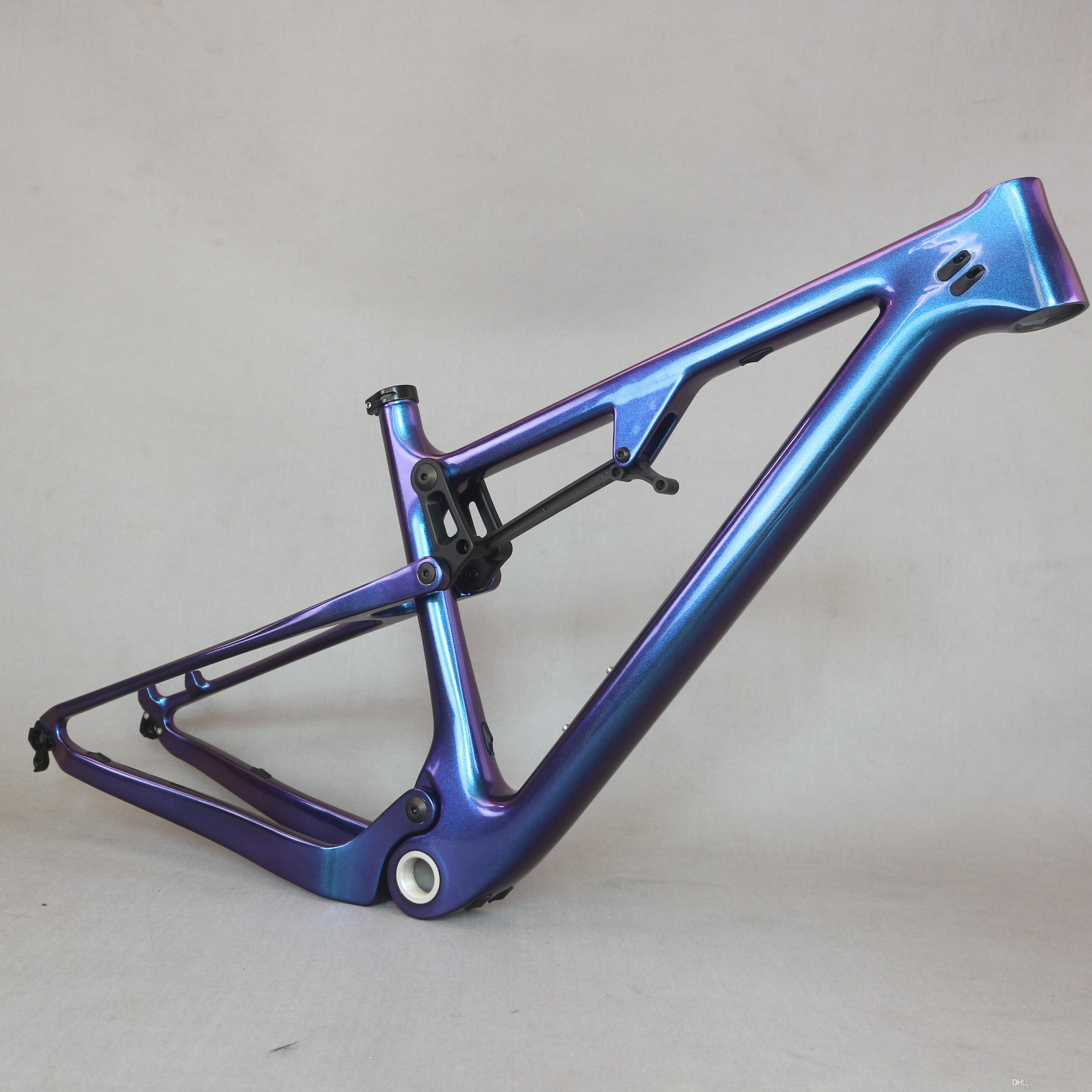 Full Mountain Bike Carbon Frames 29er Carbon MTB Bicycle Frame BSA 73mm 11 Color