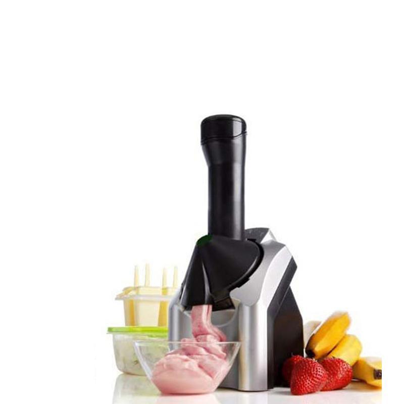 Krem Makine Meyve Makinesi Çocuk Buz Yapma Makinesi Donmuş Yoğurt DIY Ev Dondurma Makinesi Mutfak Gereçleri
