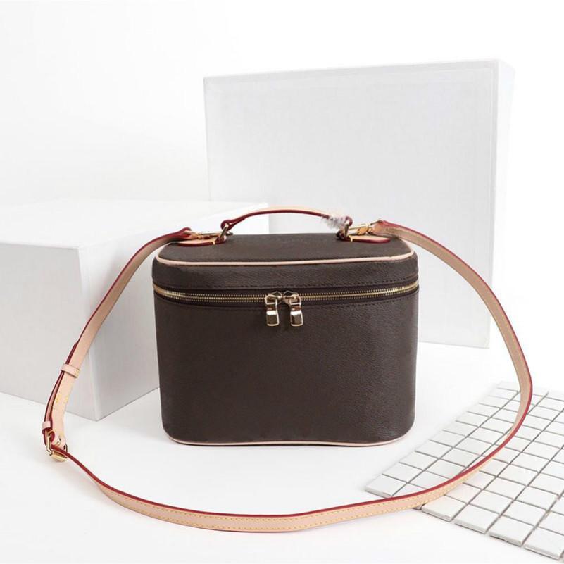 2020 디자이너 메이크업 가방 여성 오래된 꽃 메이크업 가방 디자이너 파우치 패션 디자이너 화장품 가방 핸드백 어깨 가방