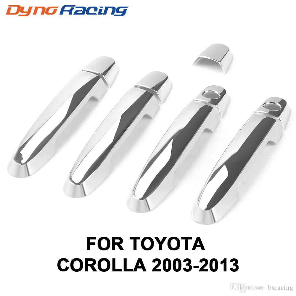 ABS Chrome Door Handle Cover Trim for Corolla 2003-2013 /Toyota Camry 2002-2006 /Rav4 2001-2008 /Vios for Yaris