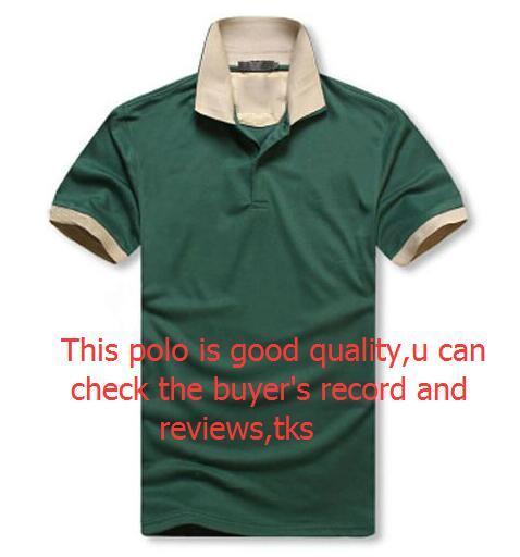 Di lusso del Mens Classic Polo maglietta vendita calda estate allentato manica corta Tees Mens ricamo Polo Tees alta qualità maglietta di formato M-2XL