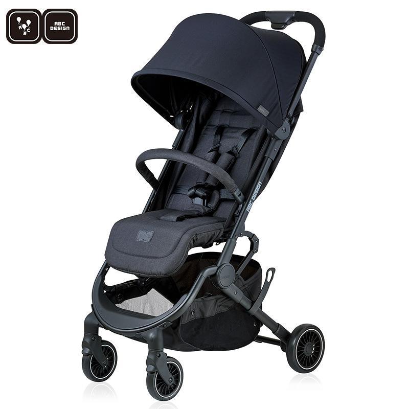 German Pupair Stroller Luz Folding pode sentar e Lie portátil recém-nascido Stroller Acessórios carro do bebê
