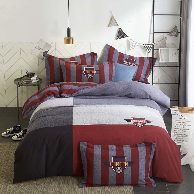 Gorgeous Bedding Linen Select Item Egyptian Cotton Wine Striped US Sizes