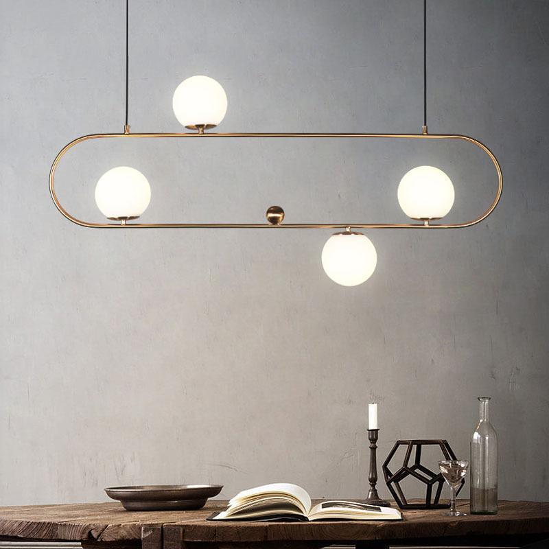Luz pendiente moderna retro industrial lámpara colgante hanglamp Geometría araña de comedor Sala de estar artefactos de iluminación envío