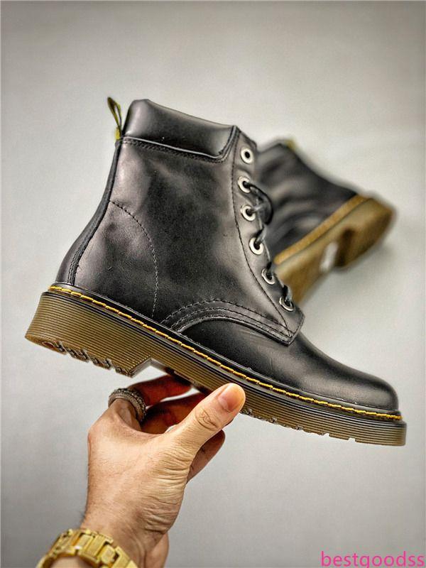 Novo designer 2019 martin martins dr mulher martin doc inicialização aston mens sapatos botas homens tênis chaussures trabalhar sola de couro de inverno Motor5f53 #