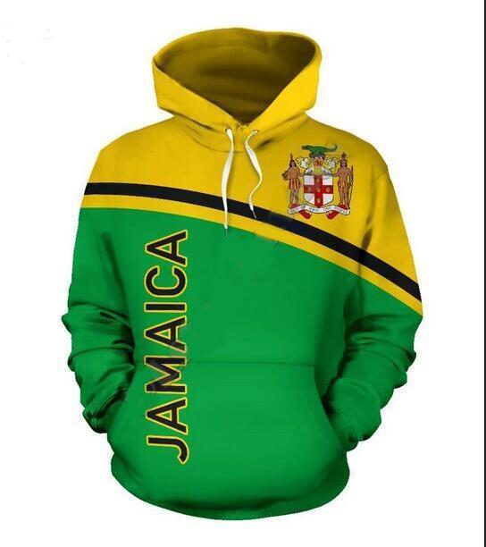 Mens Designer Hoodies für Frauen Männer Paare Sweatshirt Lovers 3D Jamaika Indian Hoodies Coats Hoodies Tees Kleidung RR037