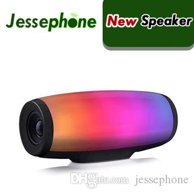 Z11 bluetooth speaker 7 colors pulse flash music mp3 player super bass handfree waterproof subwoofer SD card player with mic 1200mah power