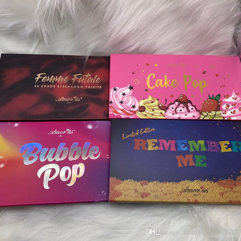 Fleisch Schönheit Augen Make-up Amor Usa Cake Pop 32 Farben Glitter Bomb Santa Fe Grausamkeitsfreie Make-up Lidschatten-Palette