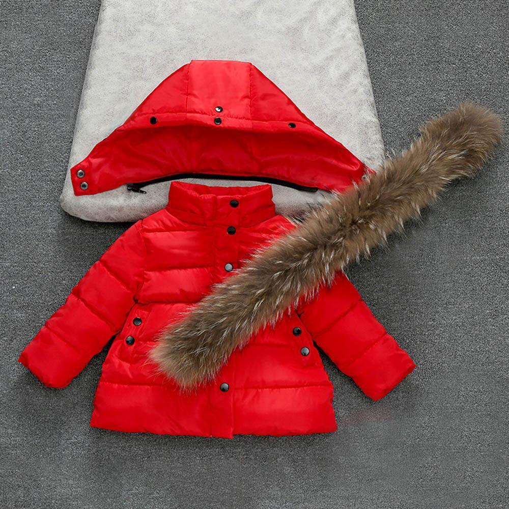 Children Jacket for New Girls boys Winter Wool Warm Overcoat Fashion Girls Clothes 2019 Kids Outerwear Autumn Girls Coat