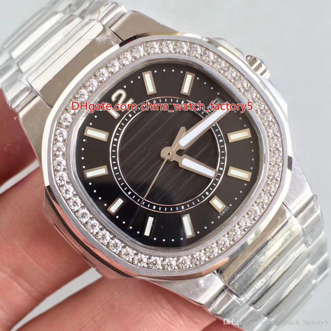 Qualidade 32mm x 6,9 milímetros Nautilus 7011 / 1R-010 Eletrônica Quartz 23-250 S C Movimento Ladies Watch Mulheres de CAL.E Relógios 8 Estilo Hot venda topo