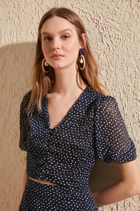 Trendyol Polka Dot Bluz TWOSS20BZ0536