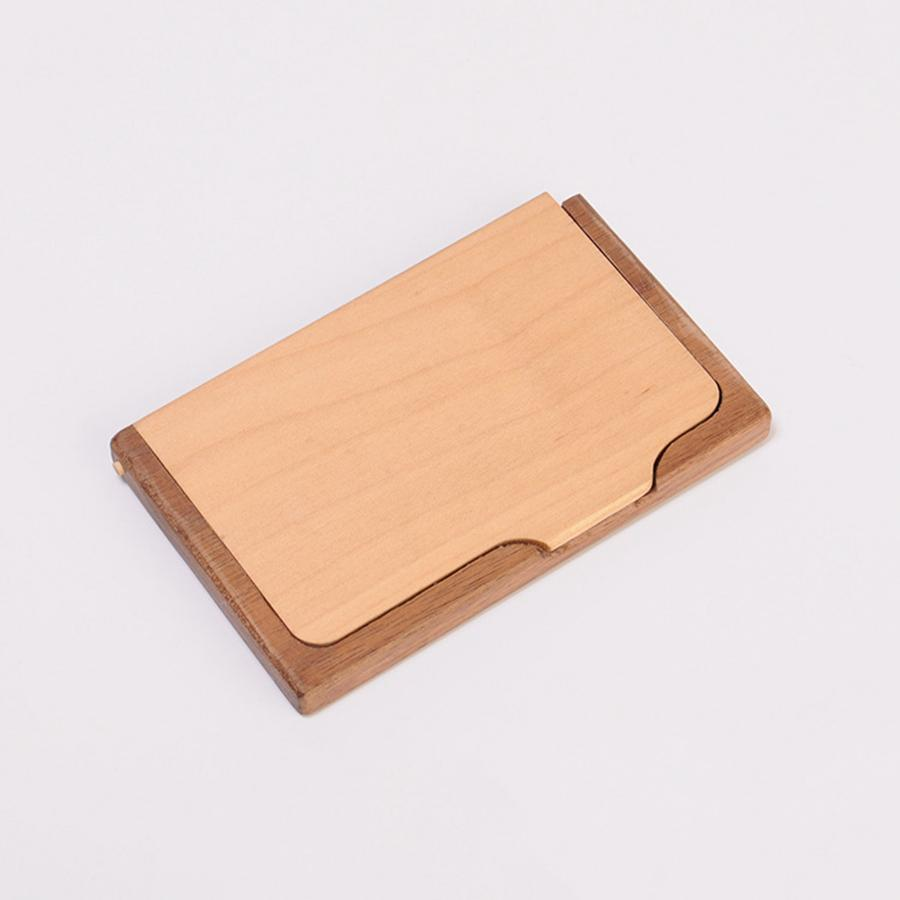 48 Wooden Business Card Holder Creative Fashion High Grade Solid Wood  Multi Function Storage Box Gift For Friends RRA48 From Are_beautiful,  $48.482