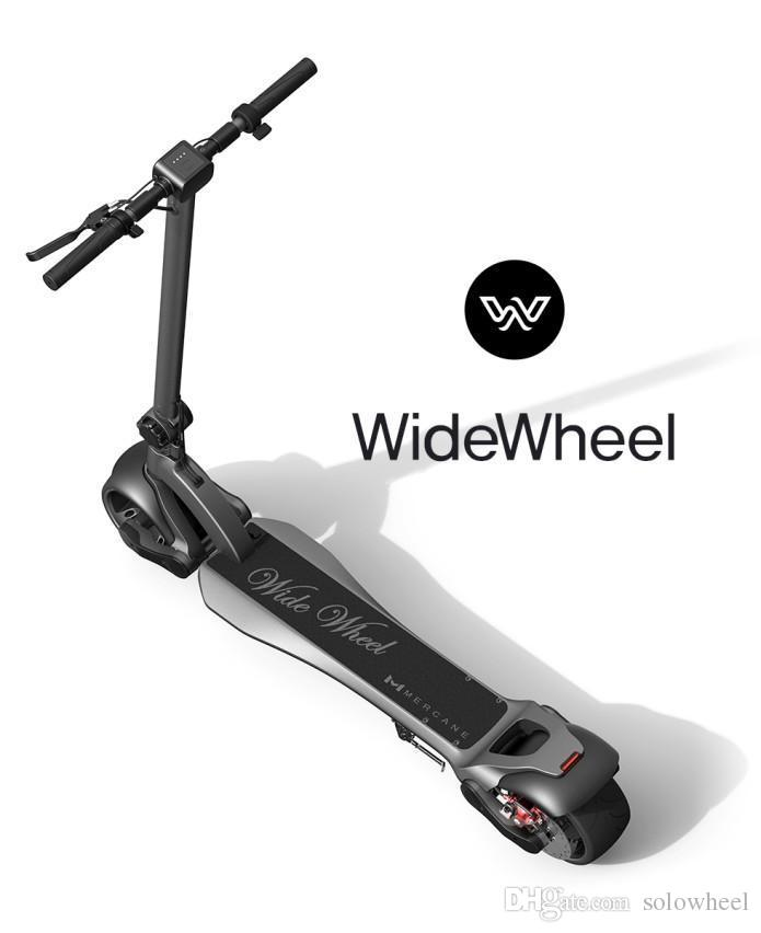 WIDEWHEEL - Unique Design,The high-powered lightweight scooter with high-efficiency Lithium-ion battery 13.2ah and 500W motor,25 mph speed