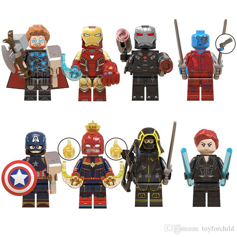 Marvel Warmachine Lego Compatible Figure super heroes