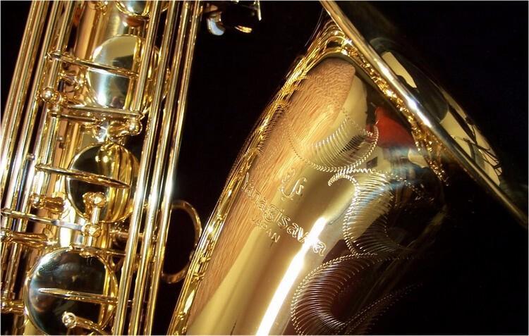 ياناجيساوا T-902 bb تينور ساكسفون المهنية نحاس الذهب ورنيش ب شقة الآلات الموسيقية ساكس مع حالة المعبرة