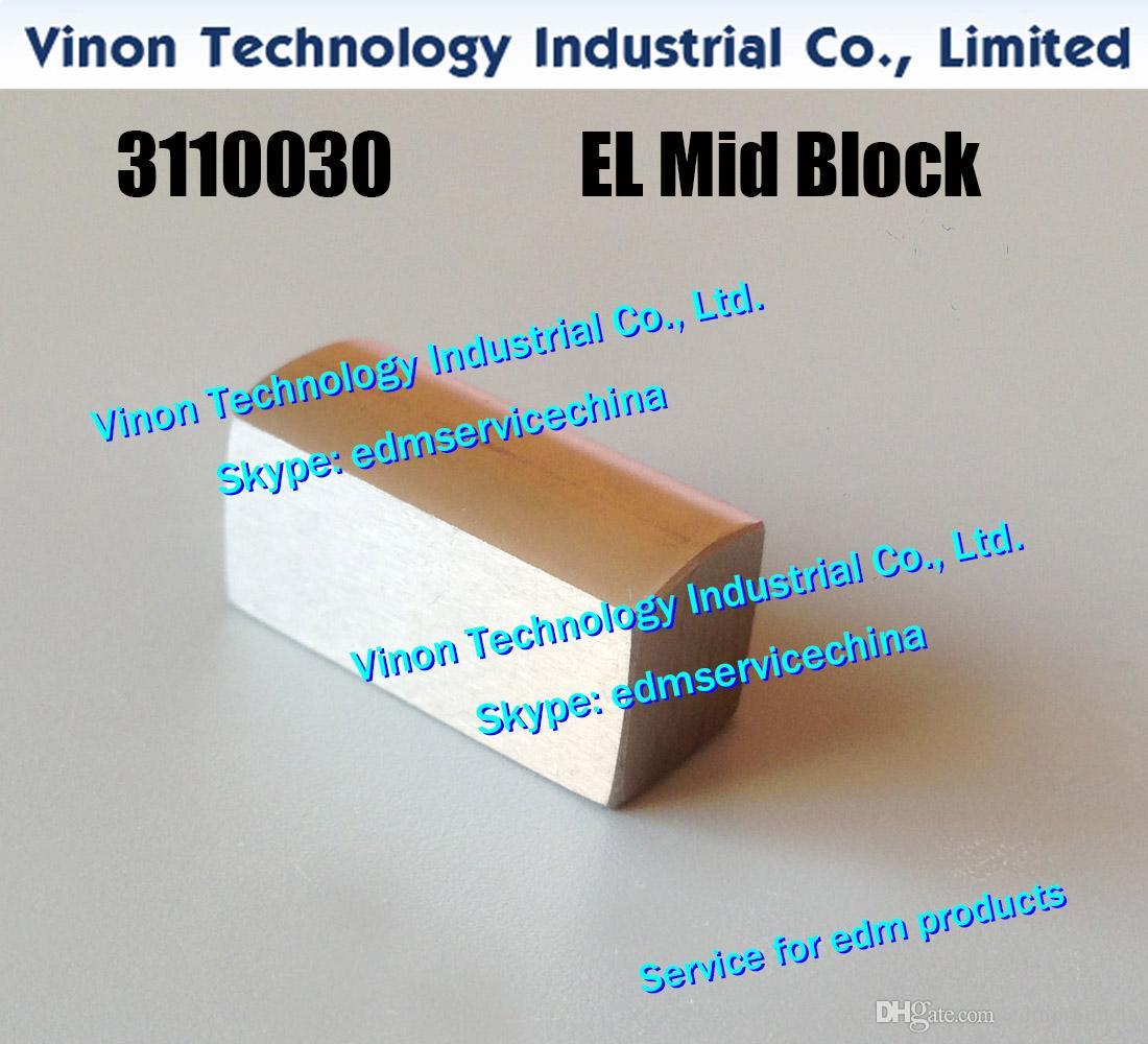 3110030 EDM EL 중간 블록 0,205,812 18x7.5x9T 중간 전극 CW502225C, H47189C, AQ400, AQ600, SL400, SL600, AG360L, AG400, ALC400G에 대한 21216SC