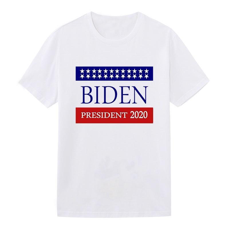 La novedad del diseñador de moda de lujo ocasionales Biden camisetas para los hombres Tee Shirts Carta bordado camiseta para hombre de las camisetas de manga corta camisetas # 234