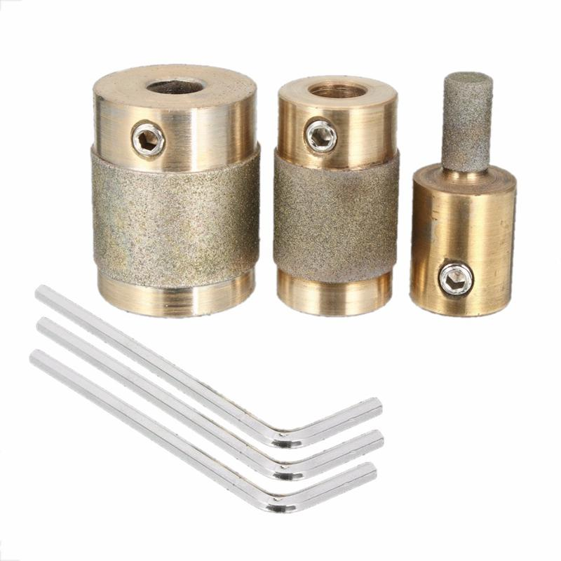 3//4 Diamond Stained Glass Grinder Head Bit Quality Brass Core